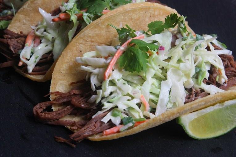 Chipotle Brisket Tacos